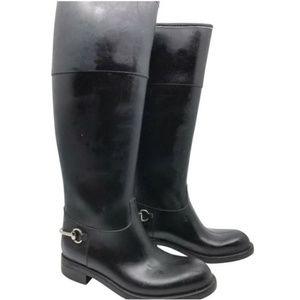 GUCCI Rubber Rain Boots Sz 38